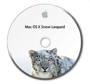 Mac OS X 10.6 Install DVD