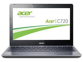 Замена матрицы на ноутбуке Acer C720 29552G01A