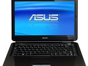 Замена матрицы на ноутбуке Asus K40Af