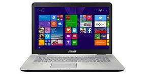 Замена матрицы на ноутбуке Asus N751Jx T7215T