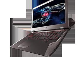 Замена матрицы на ноутбуке Asus Rog Gx700Vo