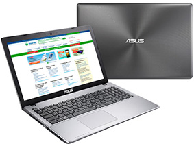 Замена матрицы на ноутбуке Asus X550Dp