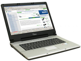 Замена матрицы на ноутбуке Fujitsu Siemens Amilo L1310G