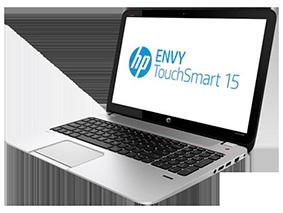 Замена матрицы на ноутбуке Hp Envy Touchsmart 15 J100