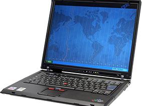 Замена матрицы на ноутбуке Lenovo Thinkpad T42