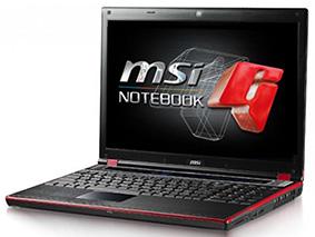 Замена матрицы на ноутбуке Msi Gt628